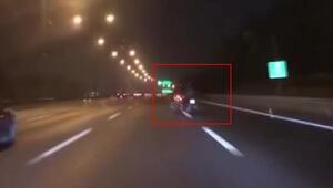 İstanbulda sürücünün dikkati motosiklet hırsızlığını önledi
