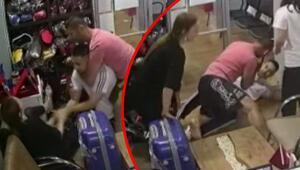Çok sert kayaya tosladı Milli antrenör sevgilisinden kaçan kadını böyle korudu