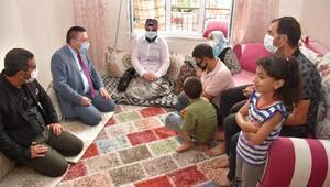 Başkan Beyoğlunun ev ziyaretleri sürüyor