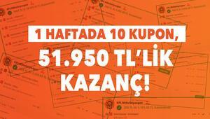 1 haftada 10 iddaa kuponu ile 51.950 TL kazandı İşte yeni kuponu...