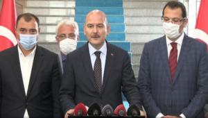 İçişleri Bakanı Süleyman Soylu, Sakaryadaki patlama ile ilgili açıklamalarda bulundu