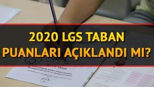 LGS taban puanları ve yüzdelik dilimleri açıklandı mı 2020 Lise taban puanları
