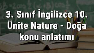 3. Sınıf İngilizce 10. Ünite Nature - Doğa konu anlatımı