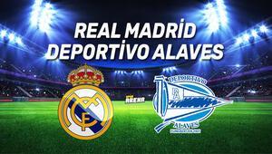 Real Madrid Deportivo Alaves maçı ne zaman, saat kaçta, hangi kanaldan canlı yayınlanacak