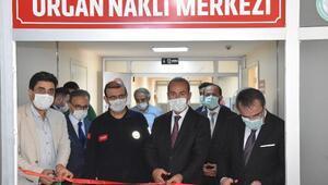 SCÜde Organ Nakil Merkezi hizmete açıldı