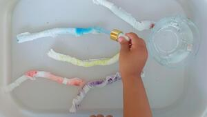 Çocuklar için aktivite: Minik tırtıllar iş başında