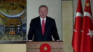 Ayasofyaya giriş ücretsiz mi olacak Cumhurbaşkanı Erdoğandan son dakika açıklaması