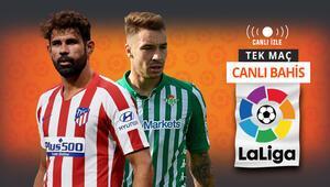 Atletico Madrid, hedefsiz Real Betisi konuk ediyor Galibiyetlerine iddaada...