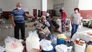Haftada üç gün köylü pazarı