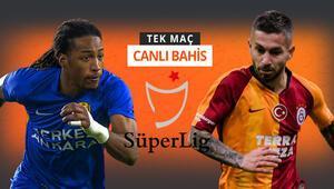Galatasaray, Ankaragücü deplasmanına 6 eksikle gitti Galibiyetlerine iddaada...