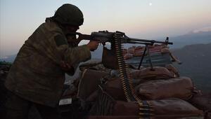 MSB: Irakın kuzeyinde 2 terörist etkisiz hale getirildi