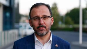 Gençlik ve Spor Bakanı Mehmet Kasapoğludan Hatayspora kutlama