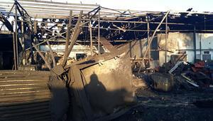 Zonguldakta fabrikada korkunç patlama Savaş alanına döndü