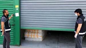 Adana'da 920 bin liralık sahte içki üretim malzemesi ele geçirildi