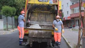 Dans ederek çöp toplayan temizlik görevlileri konuştu
