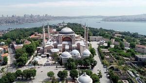 Ayasofyanın planları Ayasofya Camii ve Külliyesi olarak değiştirildi