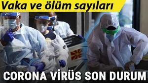 Koronavirüs Türkiye tablosunda vaka ve ölüm sayısında son durum.. Corona Virüs dünya geneli haritası.. Riskli ülkeler ve Covid 19 haberleri