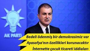 Son dakika haberi... AK Parti Sözcüsü Ömer Çelikten önemli açıklamalar