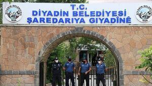 PKK soruşturmasında başkan gözaltına alınmıştı Diyadin Belediyesine görevlendirme