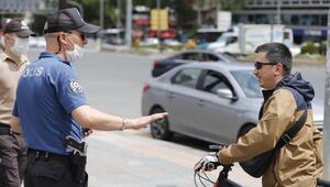 Bin 390 kişiye maske cezası