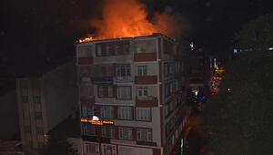 Bilecikte, 8 katlı iş merkezinde yangın