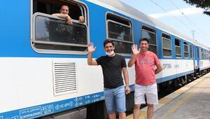 Avrupadan gelen ilk gurbetçi treni Kapıkulede