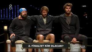 Survivorda finale kalan 2. isim belli oldu