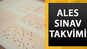ALES ne zaman ALES/2 sınav ve başvuru takvimi