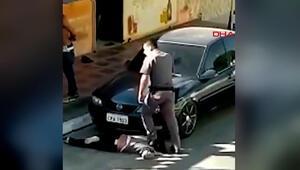 Brezilyada polis şiddeti kamerada