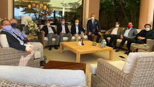 Kulüpler Birliğinden Galatasaray Başkanı Mustafa Cengize ziyaret