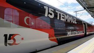 15 Temmuz Demokrasi ve Milli Birlik Treni İstanbul'a geldi
