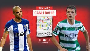 Dragonlar mı, Aslanlar mı Porto vs Sporting rekabetinde iddaanın favorisi...