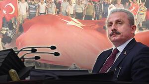 TBMM Başkanı Mustafa Şentop yazdı: Her ilimiz, her ilçemiz bir cephe, her ferdimiz sivil Mehmetçik oldu