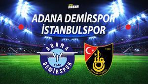 Adana Demirspor İstanbulspor maçı ne zaman saat kaçta hangi kanalda Kritik mücadele