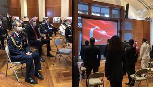 Türkiyenin Washington Büyükelçiliğinde 15 Temmuz anıldı