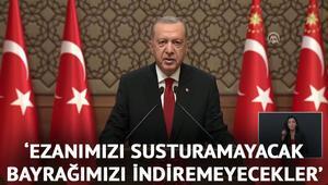 Son dakika haberi: Cumhurbaşkanı Erdoğandan Ulusa Sesleniş konuşmasında önemli açıklamalar