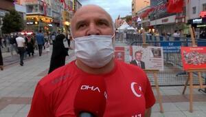 15 Temmuz gazisi Hünal: Kalbimdeki yara Ayasofyanın ibadete açılmasıyla sarıldı