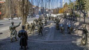 Ankaranın onlarca heykelli, duygu dolu parkı
