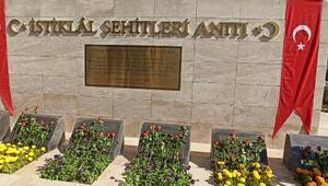 Çorumda İstiklal Şehitleri Anıtı açıldı