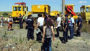 Çorludaki 25 kişinin öldüğü tren kazasında olay yerinde keşif yapıldı
