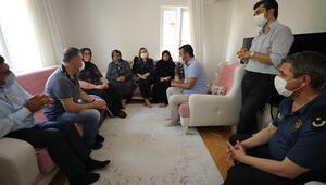 MKE Ankaragücü Başkanı Mertten şehit ailesine taziye ziyareti