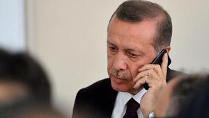 Cumhurbaşkanı Erdoğandan şehit babasına başsağlığı telefonu