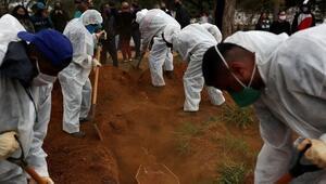Brezilya, Meksika ve Hindistanda Covid-19 kaynaklı ölümler artmaya devam ediyor