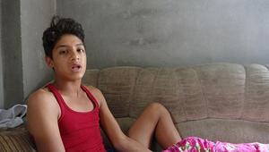 Pitbull 13 yaşındaki çocuğa dehşeti yaşattı