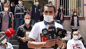 Diyarbakırda HDP önündeki eylemde 319uncu gün