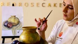 Pastanın heykeltıraşı Pastaları viral oldu