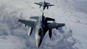 Irakın kuzeyine hava harekatı: 2 terörist etkisiz hale getirildi
