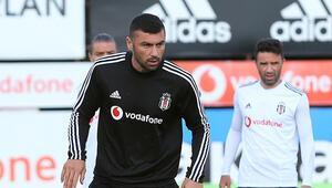Beşiktaşta derbi maçı hazırlıkları sürüyor
