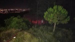 Tuzlada korkutan yangın 500 metre karelik alan yanıp kül oldu