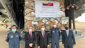 MSB duyurdu: Türkiyenin gönderdiği tıbbi yardım malzemeleri Venezuelaya ulaştı